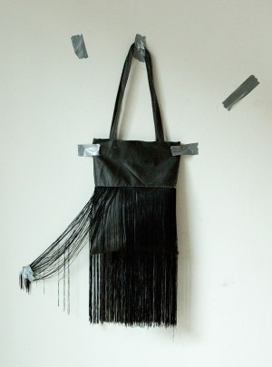 "LEATHERBAG ""FRINGES"""