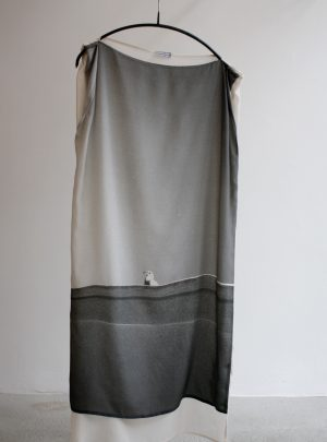 "SILK DRESS ""GULL"""