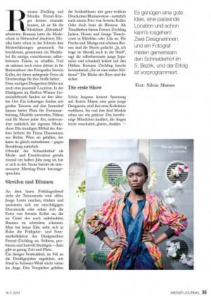 Wiener Zeitung (2014 / Page 1)