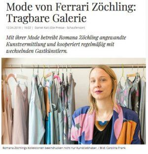 DIE PRESSE Schaufenster (April 2018)