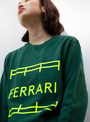 UNISEX SWEATER GREEN
