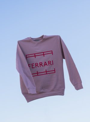 UNISEX SWEATER PALE PINK