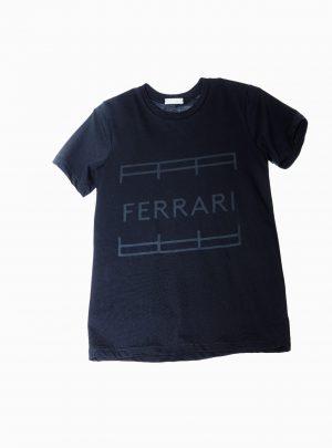 FERRARI SHIRT UNISEX BLACK
