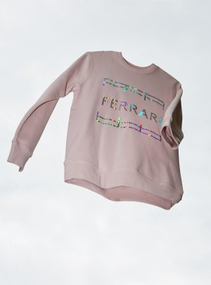 DISCO UNISEX SWEATER PALE PINK BARBIE EDITION