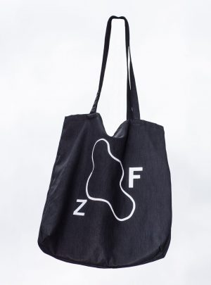 FZ Bag black w refelctive print