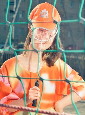 UNISEX FZ CAP orange