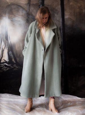 Coat Pale Green
